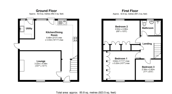 Floor plan example thefloors co for Plan en 2d